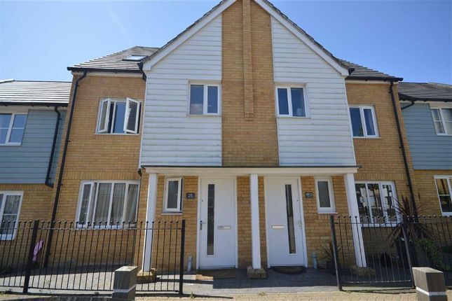 Thumbnail Town house to rent in Sir Henry Brackenbury Road, Ashford, Kent