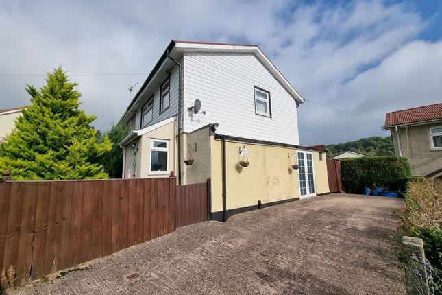 Thumbnail Semi-detached bungalow for sale in 7 Cwmalsie Crescent, Pontllanfraith, Blackwood, Gwent