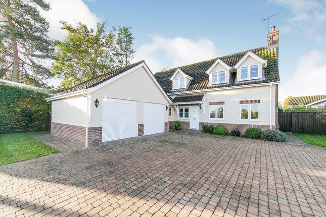 Thumbnail Detached house for sale in Woodbridge Road, Grundisburgh, Woodbridge