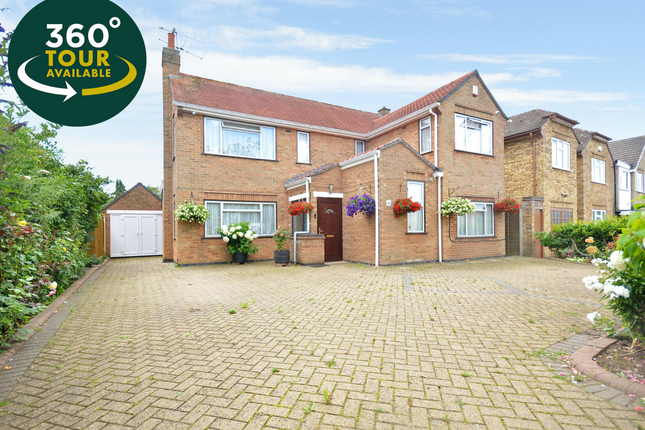 Thumbnail Detached house for sale in Woodfield Road, Oadby, Leicester