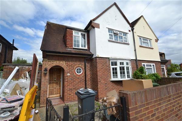 Thumbnail Semi-detached house for sale in Southville Close, Feltham