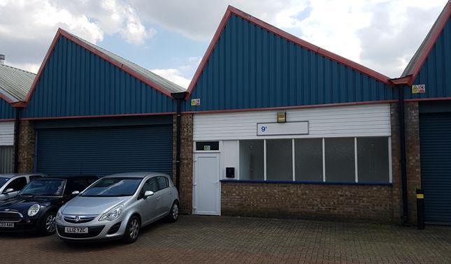 Thumbnail Light industrial to let in Unit 9B Britannia Estate, Leagrave Road, Luton