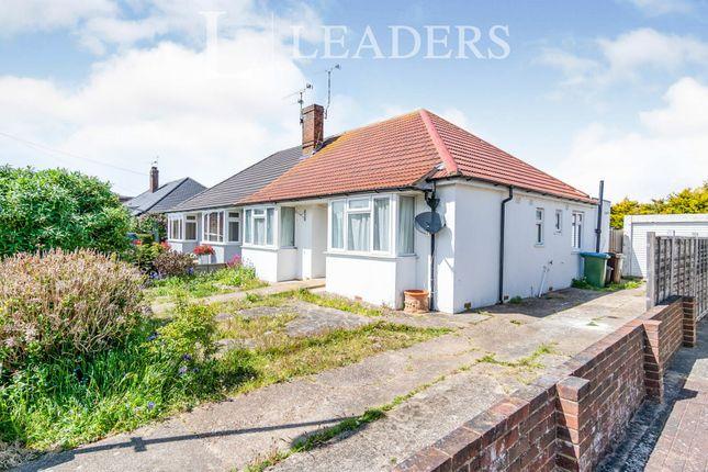 3 bed bungalow to rent in Warren Crescent, East Preston, Littlehampton BN16