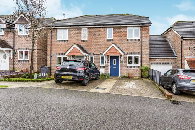 Thumbnail End terrace house to rent in Pine Tree Walk, Drift Road, Clanfield