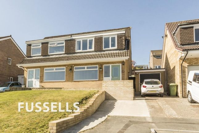 Thumbnail Semi-detached house for sale in Rhuddlan Court, Caerphilly