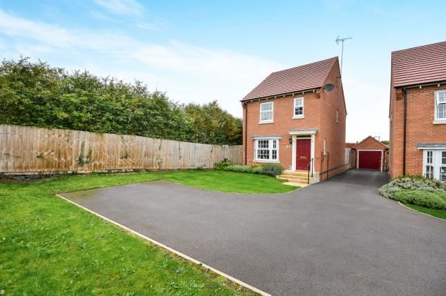 Thumbnail Detached house for sale in The Hayfields, Rainworth, Mansfield, Nottinghamshire
