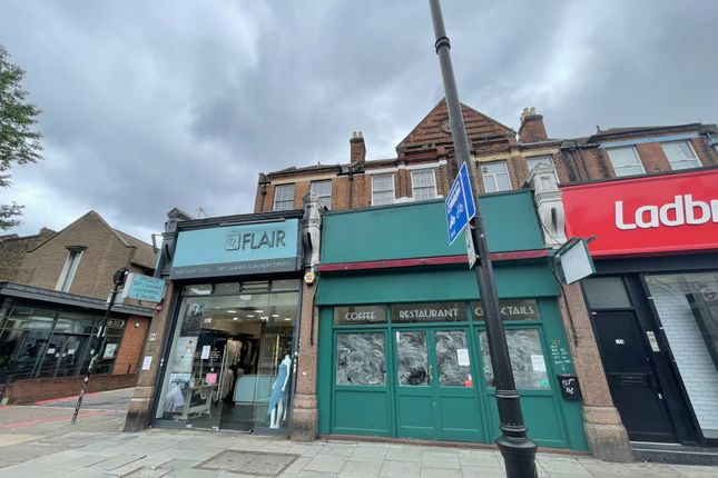 Thumbnail Restaurant/cafe to let in Clapham High Street, London
