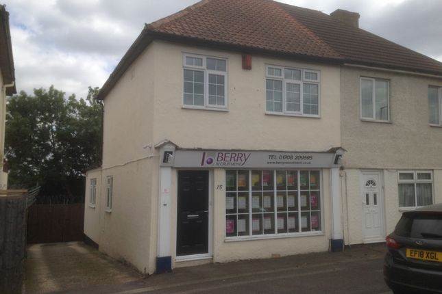 Thumbnail Commercial property for sale in The Parade, Colchester Road, Harold Wood, Romford