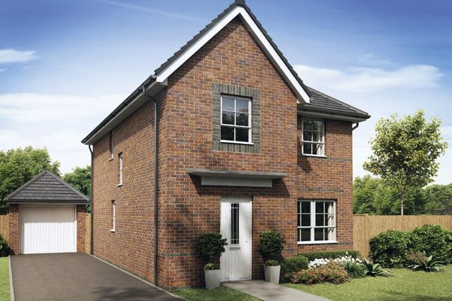 """Thumbnail Detached house for sale in """"Kingsley"""" at Ruston Road, Burntwood"""