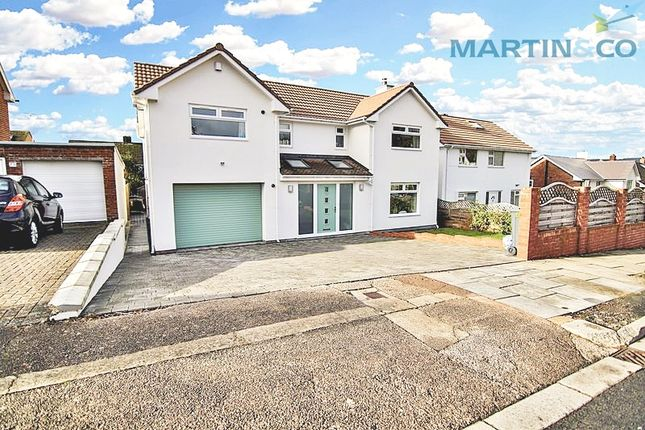 Thumbnail Detached house for sale in Duffryn Avenue, Cyncoed, Cardiff