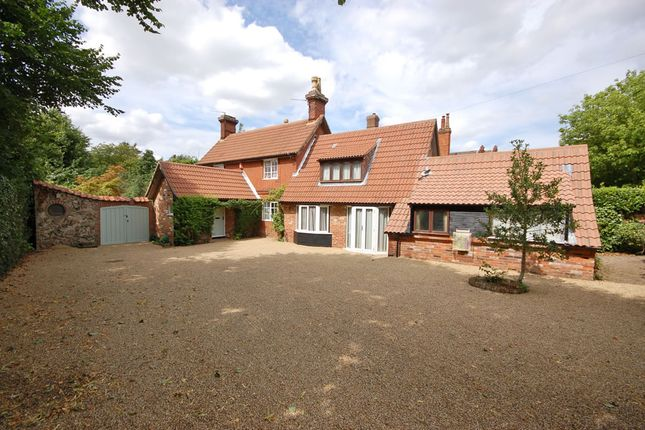 Thumbnail Detached house for sale in Church Lane, Wroxham