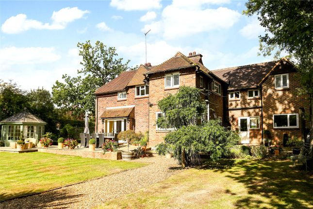 Thumbnail Detached house for sale in Green Lane East, Wanborough, Guildford, Surrey