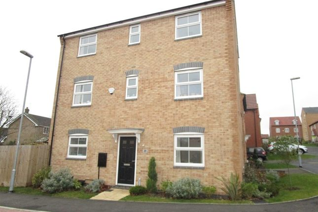 Thumbnail Detached house for sale in Woodhorn Close, Arnold, Nottingham
