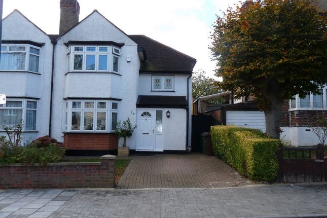Thumbnail Semi-detached house for sale in Hawthorne Avenue, Kenton
