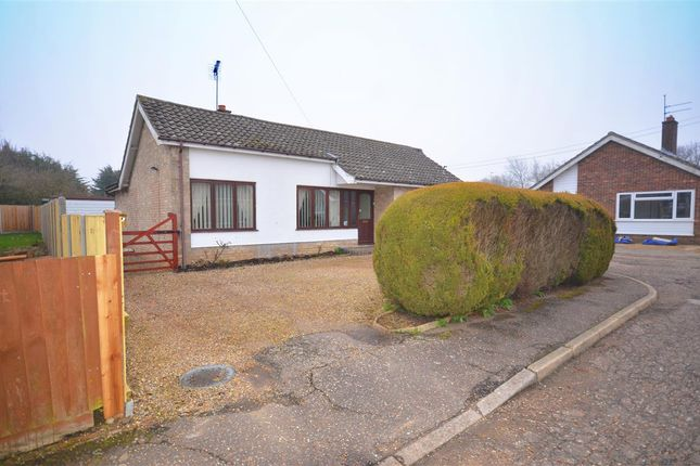 Thumbnail Bungalow for sale in Homestead Close, Lingwood, Norwich