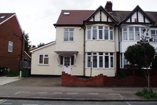Thumbnail End terrace house for sale in Greenway Avenue, Walthamstow, London