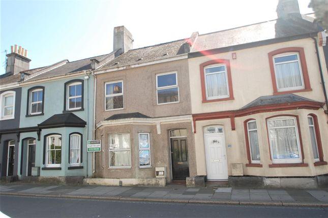 Thumbnail Flat to rent in Wilton Street, Stoke, Plymouth