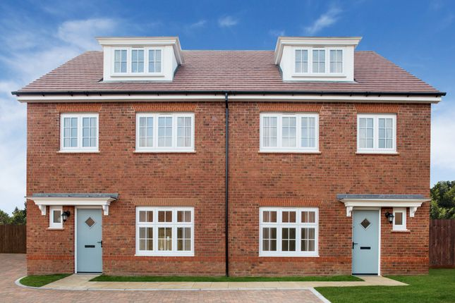Thumbnail Semi-detached house for sale in Sanderson Manor, Church Road, Hauxton, Cambridge