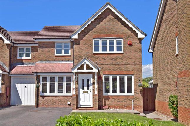 Thumbnail Semi-detached house for sale in Chanctonbury, Ashington, West Sussex