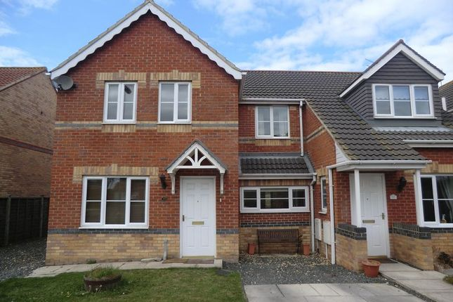 Thumbnail Semi-detached house to rent in Rayburn Court, Blyth