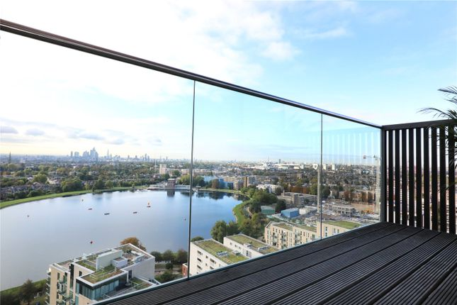 Balcony of Residence Tower, Woodberry Grove, London N4