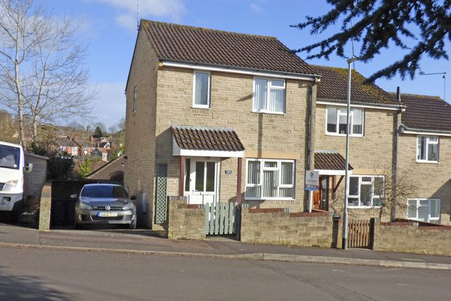 Thumbnail End terrace house for sale in Cale Way, Wincanton