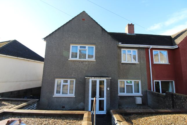 Thumbnail Semi-detached house for sale in Pant-Y-Fid Road, Aberbargoed, Bargoed