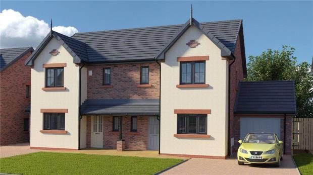 Thumbnail Semi-detached house for sale in Plot 24 The Gelt, St. Cuthberts, Wigton