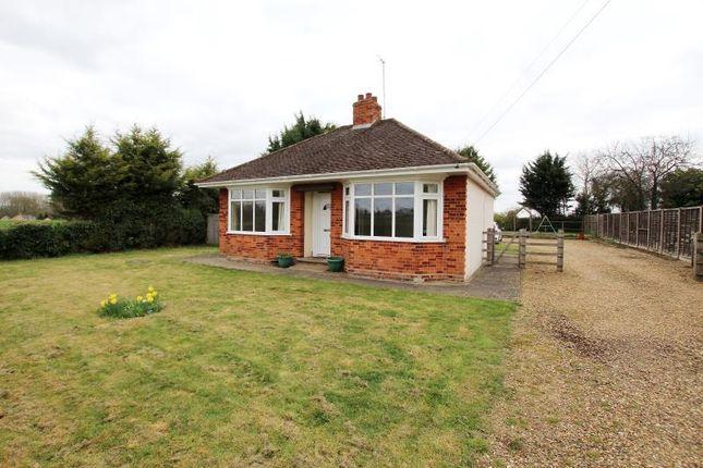 Thumbnail Detached bungalow to rent in Church Lane, Stibbington, Peterborough