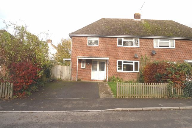 Thumbnail Semi-detached house for sale in Northfields, Twyford