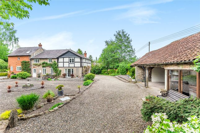 Thumbnail Detached house for sale in Broxwood, Leominster, Herefordshire