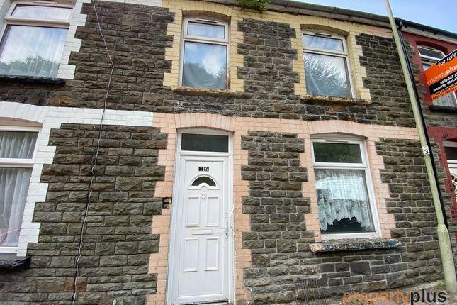 3 bed terraced house for sale in Fountain Street, Trehafod -, Pontypridd CF37