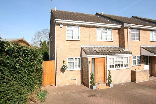 Thumbnail End terrace house for sale in The Squirrels, Bushey