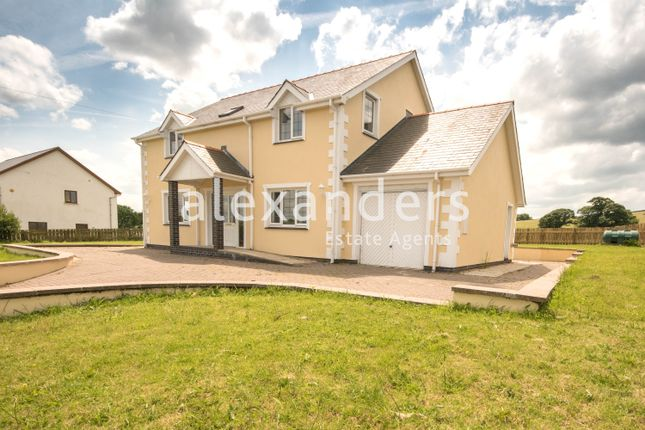 Thumbnail Detached house for sale in Moriah, Capel Seion, Aberystwyth