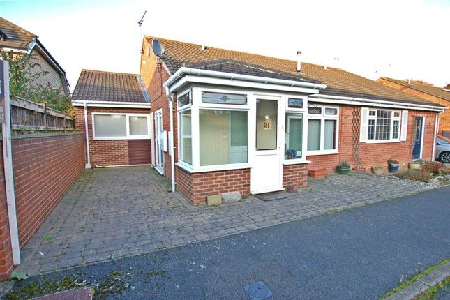 Thumbnail Semi-detached bungalow for sale in Fairney Close, Ponteland, Newcastle Upon Tyne