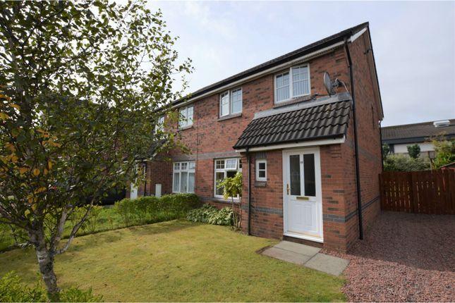 Thumbnail Semi-detached house for sale in Waterhaughs Grove, Glasgow