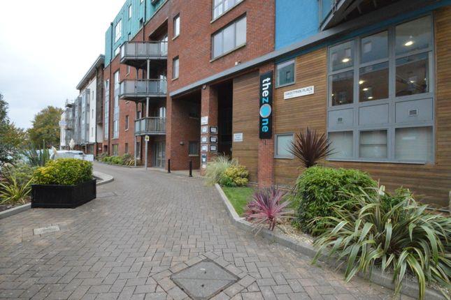 External of Ratcliffe Court, Barleyfields, Bristol BS2