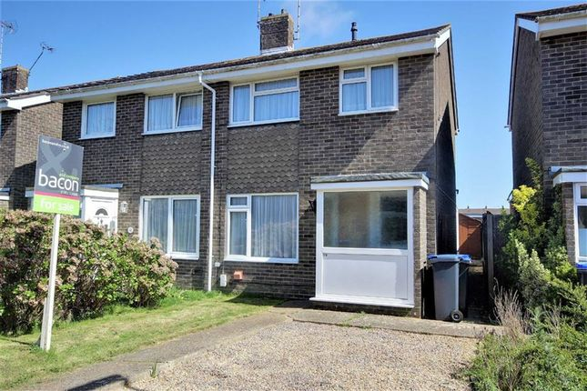 Thumbnail End terrace house for sale in Lychpole Walk, Goring-By-Sea, Worthing, West Sussex