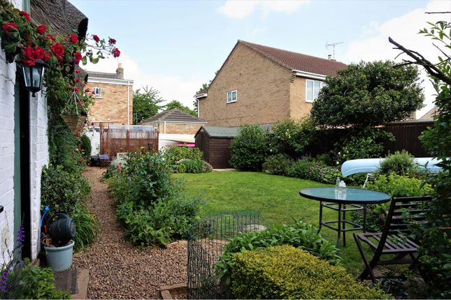 Rear Garden of Fieldside, Coates, Peterborough PE7