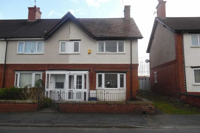 Thumbnail End terrace house to rent in Charles Street, Mold, Flintshire