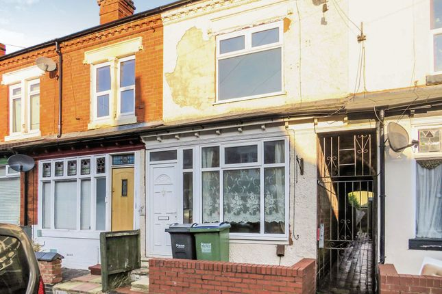Thumbnail Terraced house for sale in Reginald Road, Bearwood, Smethwick