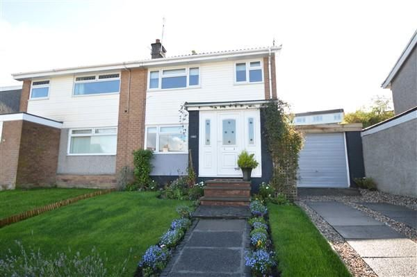 Semi-detached house for sale in St Ives Road, Moodiesburn, Glasgow