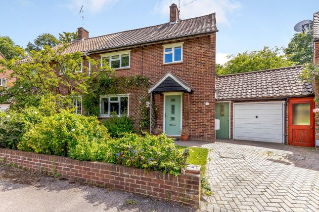 Thumbnail Semi-detached house to rent in Hall Dene Close, Guildford