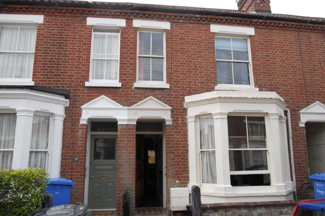 Thumbnail Terraced house to rent in Whitehall Road, Norwich