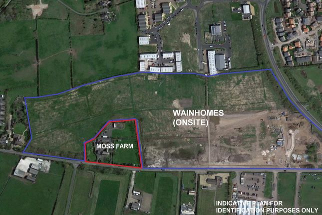 Thumbnail Land for sale in Land At Moss Farm, Cropper Road, Blackpool