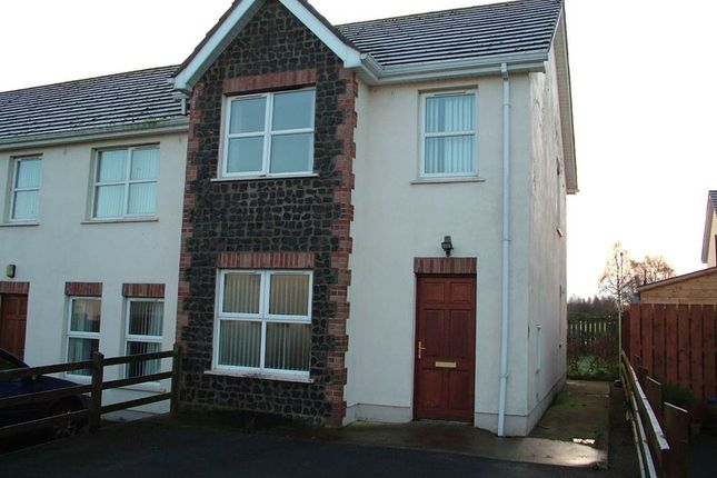 Thumbnail Town house for sale in 7, Mount Hall Grange, Craigavon
