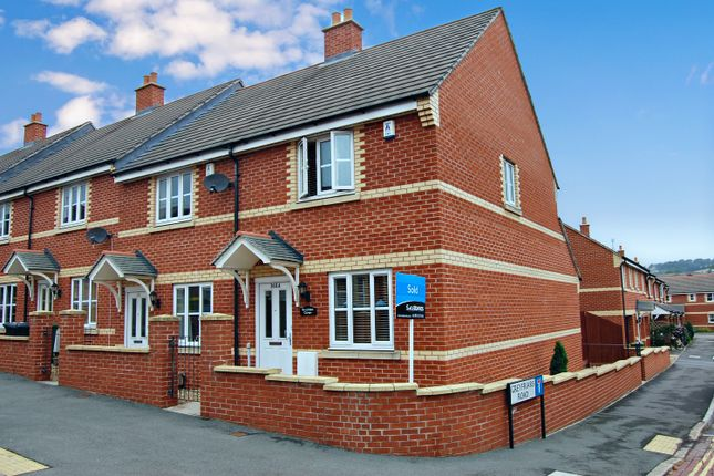 Thumbnail End terrace house to rent in Monks Road, Exeter