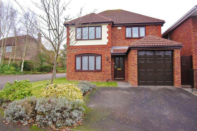 Thumbnail Detached house for sale in Percheron Drive, Knaphill, Woking
