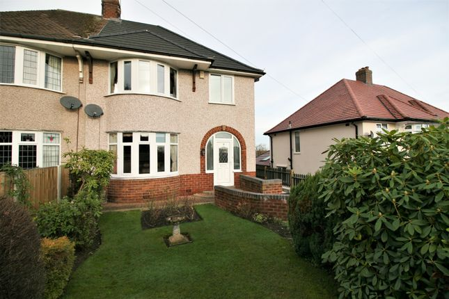 Thumbnail Semi-detached house for sale in Nottingham Drive, Wingerworth, Chesterfield