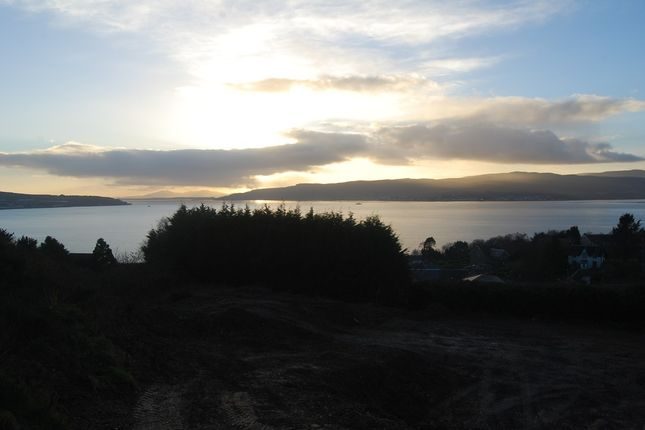Thumbnail Land for sale in Meikle Aiden Brae, Kilcreggan, Argll & Bute